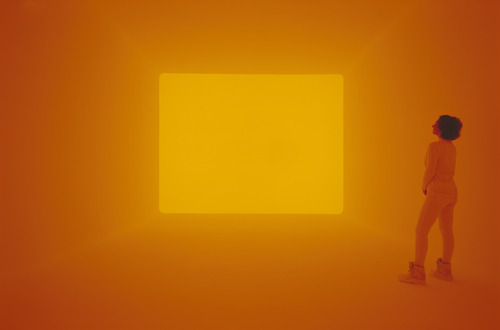 Work by James Turrell - photograph by Florian Holherr